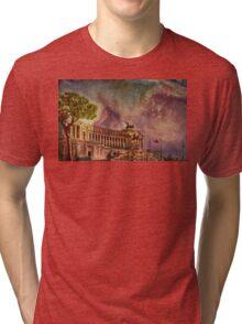 Piazza Venezia Rome Tri-blend T-Shirt