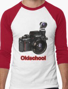 Oldschool Nikon Men's Baseball ¾ T-Shirt