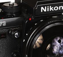 Oldschool Nikon Sticker