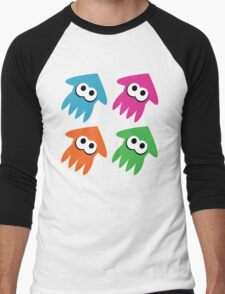 Squids Men's Baseball ¾ T-Shirt