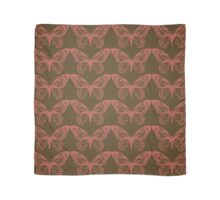 Brown and Pink Butterfly Scarf
