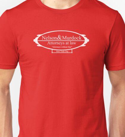 Nelson & Murdock - Attorneys at law Unisex T-Shirt