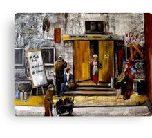 Fourth Street Mission Canvas Print