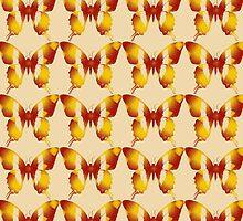 Red and Orange Butterfly by coribeth