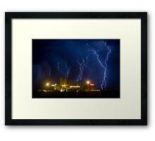 Budweiser Storm Framed Print