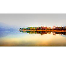 Lake profile Photographic Print