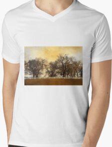 Willows at the Horse Farm Mens V-Neck T-Shirt