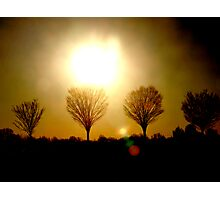 Sunsets and Silhoutte Dreams Photographic Print