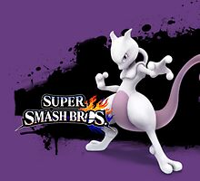 Super Smash Bros. Mewtwo by XenoLord