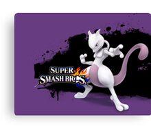 Super Smash Bros. Mewtwo Canvas Print