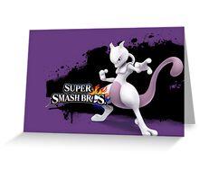 Super Smash Bros. Mewtwo Greeting Card