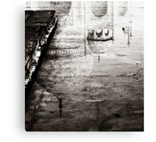 Taj Reflection  Canvas Print