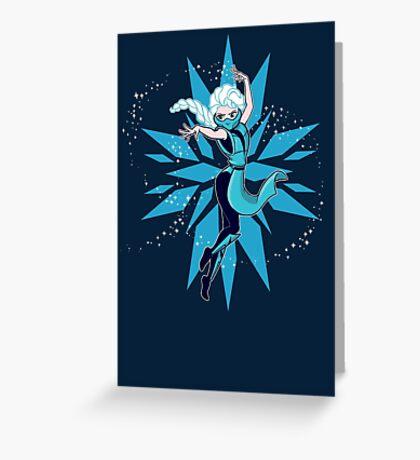 Frost Kombat!! Greeting Card