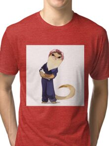 Ferret Tough Tri-blend T-Shirt