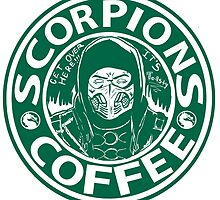Scorpion's toasty coffe by moosegod