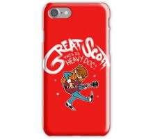 Great Scott iPhone Case/Skin