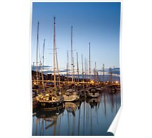 Twilight Masts Poster