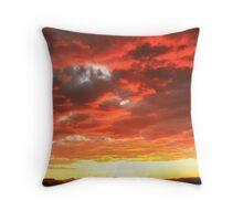 Cottonwood Pass Sunset 2 Throw Pillow