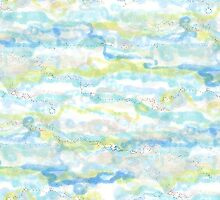 Ripples textile pattern by Regina Valluzzi