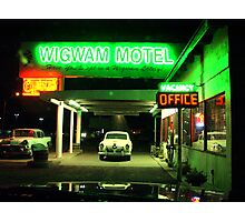 Wig Wam Motel Photographic Print