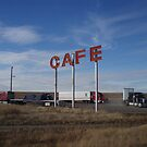 Truck stop cafe by gailrush