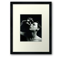 Barbra Streisand Imitation Framed Print