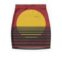 Red dawn Mini Skirt
