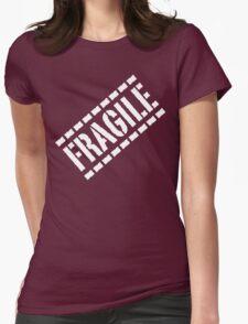 Fragile - White Lettering, Funny T-Shirt