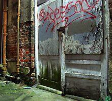 mossy door by Marc Sullivan