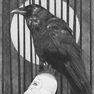 Poe's Raven by Esther Green
