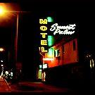 Motel, Sunset Strip, CA by gailrush