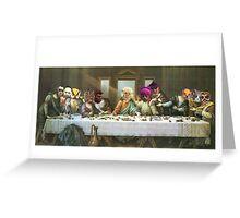 GTA 5 -last supper  Greeting Card