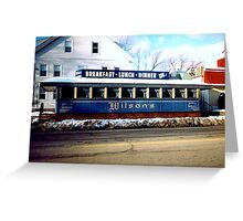 Wilson's Diner Greeting Card