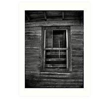 The Barn Window Art Print