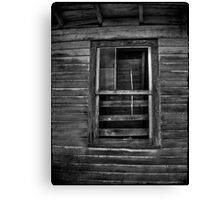 The Barn Window Canvas Print