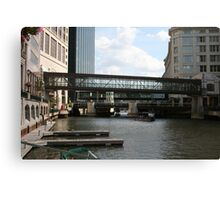 The Downtown Way Canvas Print