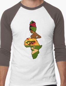 Mother Africa  Men's Baseball ¾ T-Shirt