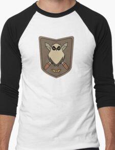 Sora No Woto Owl Crest Men's Baseball ¾ T-Shirt
