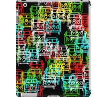 Multi Colour Campervan iPad Case/Skin