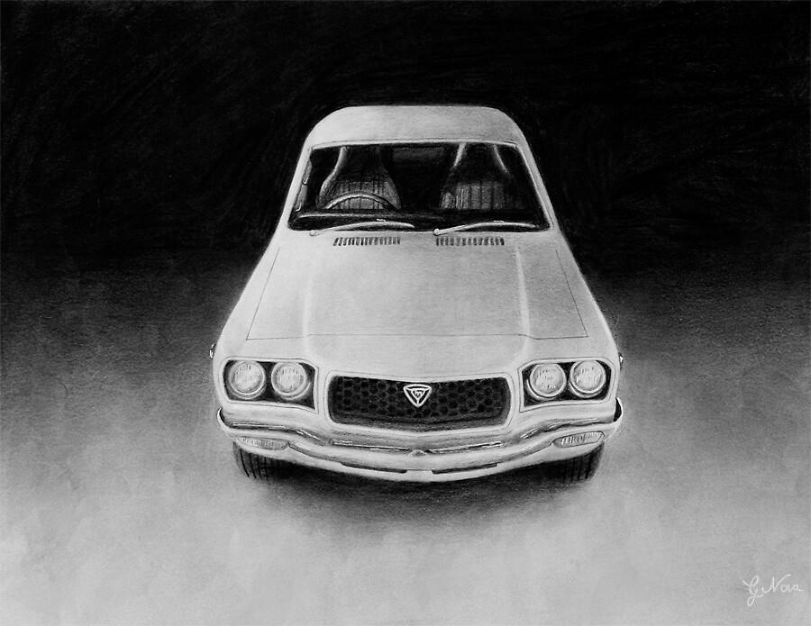 Original Mazda Rx3 by GeorgeNova