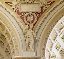 Library of Congress, Jefferson Building, Washington, D.C. by Carol M.  Highsmith
