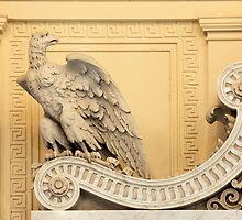 Eagle Architectural Detail - James R. Browning Courtroom Detail, San Francisco, California by Carol M.  Highsmith