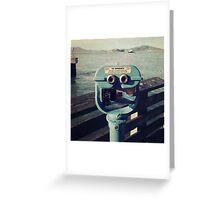 Viewing Alcatraz Greeting Card