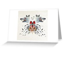 mononoke princess Greeting Card