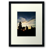 Quiet Grandeur Framed Print