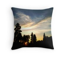 Quiet Grandeur Throw Pillow
