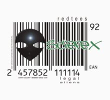 alien barcode by redboy