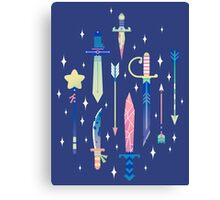 Magical Weapons Canvas Print
