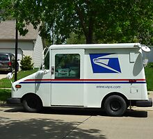 Mail Service In Any Weather by Bea Godbee