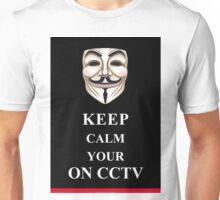 Keep Calm V for Vendetta Unisex T-Shirt